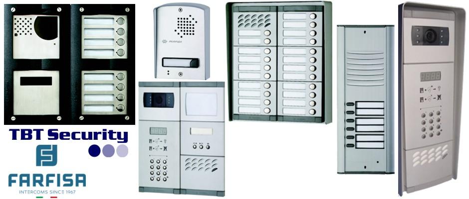 Farfisa Door Stations - Matrix - Mody - RP - Digital - Analogue