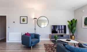 Bridgefield ZheroS installed in apartment