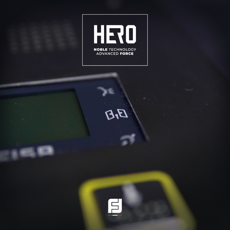 Hero TD2000HE Display